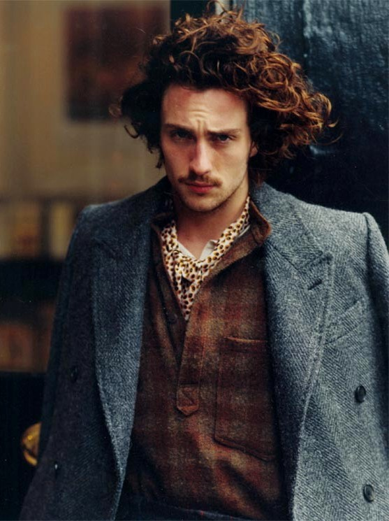 sainteheresie:  Aaron Johnson | L'Uomo Vogue, November 2012.
