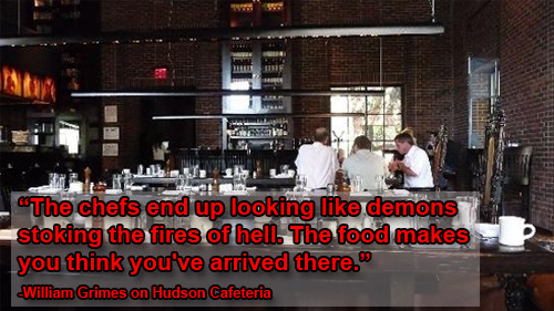 buzzfeedfood:  Today's spectacular takedown of Guy Fieri's NYC restaurant is not the first time The New York Times' Dining Section has mercilessly teared a place to pieces.  Dang, NY Times, you harsh.