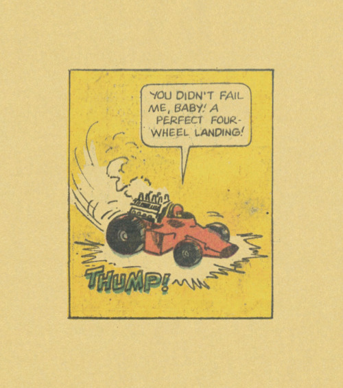 ISOLATED COMIC BOOK PANEL #204title: MOD WHEELS #16 - P30:3artist: UNKNOWNyear: 1975