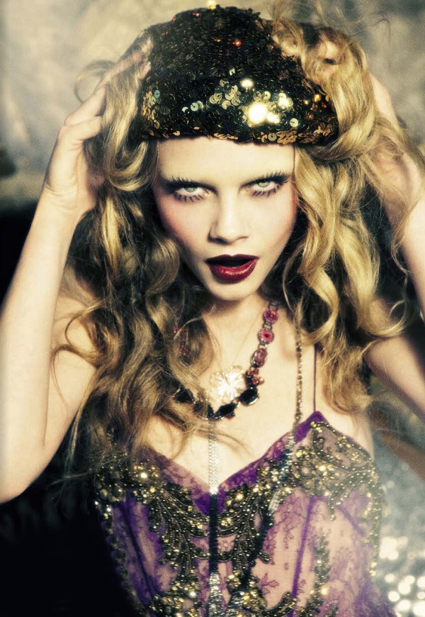Ellen von Unwerth / Vogue Italia November 2012.