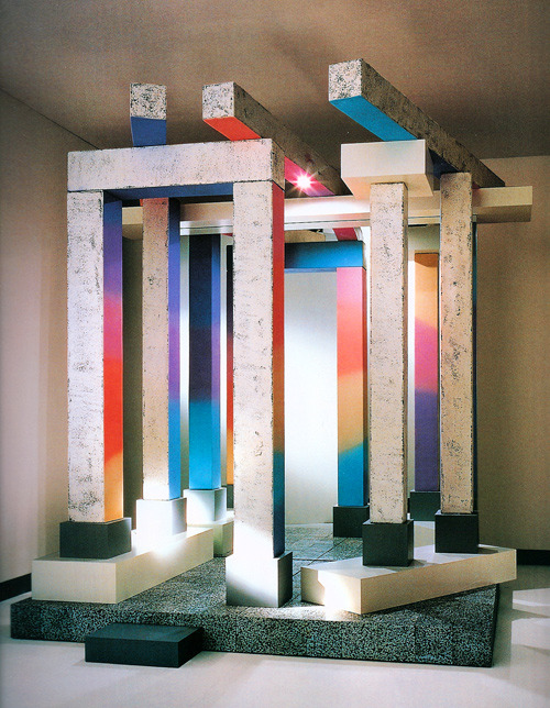 Ettore Sottsass, Looking at Yourself Like a Temple Prostitute, 1987