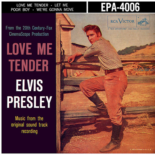 November 15, 1956: Elvis Presley makes his cinematic debut in Love Me Tender as the younger brother of a Confederate soldier following the Civil War.