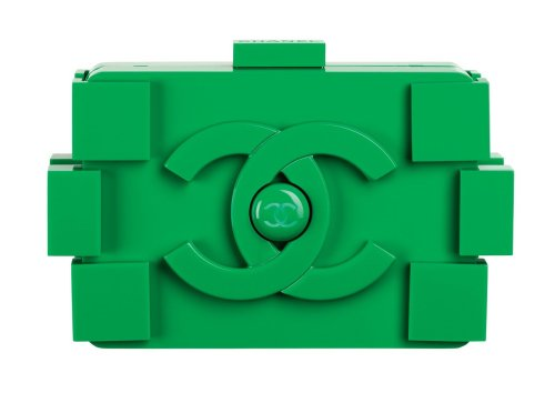 The chicest lego you'll ever meet- Chanel clutch from Spring 2013 -MDJ