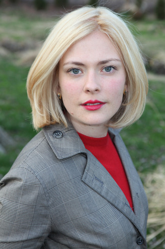 nprfreshair:  Reporter Susannah Cahalan on some of the terrifying symptoms she exhibited while descending into madness:  I slurred my words. I drooled. I didn't have proper control over my swallowing … I kept my arms out in unnatural poses. At one point, I was like the Bride of Frankenstein — I kept my arms out rigidly. I was slow. I could hardly walk, and when I did, I needed to be supported … I started [acting] very psychotic. I believed that I could age people with my mind. If I looked at them, wrinkles would form, and if I looked away, they would suddenly, magically get younger. And I believed that my father had murdered my stepmother. I believed all these incredibly paranoid — a huge, extreme example of persecution complex. And then as the days went on, I stopped being as psychotic, and I started entering into a catatonic stage, which was characterized by just complete lack of emotion, inability to relate, or to read, or hardly to be able to speak.  (Photo credit: Julie Stapen)