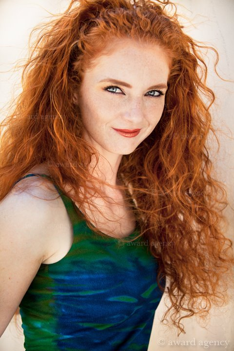 redrule:  just-redhair:  Virginia Hankins  Redrule
