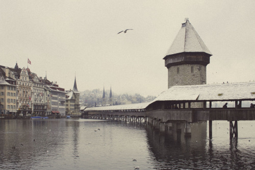 """Lucerne, Switzerland"" by Stephanie-Lee Moulin"