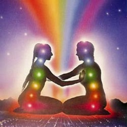 rachiepeaches:  Chakra. When two people find a bond, their energies connect.