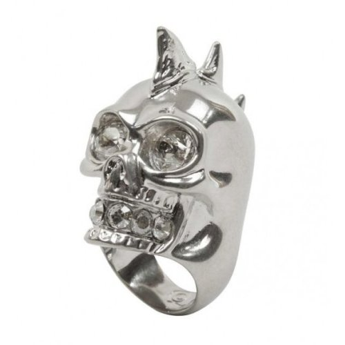 Shark teeth skull ring, Alexander McQueen