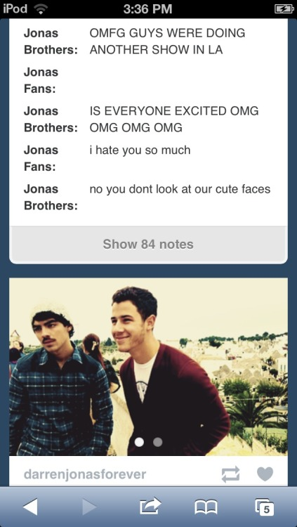 jonasandlovatoareflawless:  My dash lol my life