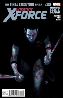 COMIC OF THE WEEK WINNER 11/7: Uncanny X-Force #33 NOMINATIONS: Comic Of The Week - 11/14/2012