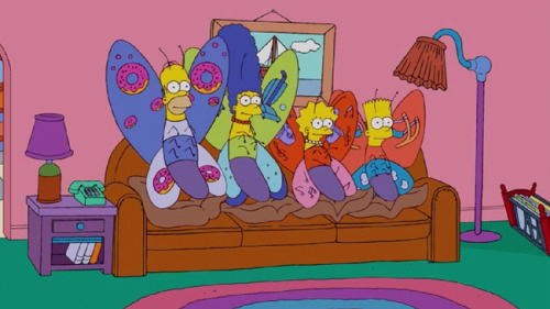 Galleries: THE SIMPSONS COUCH GAGSby Eliza Hurwitz http://bit.ly/SpfhEe