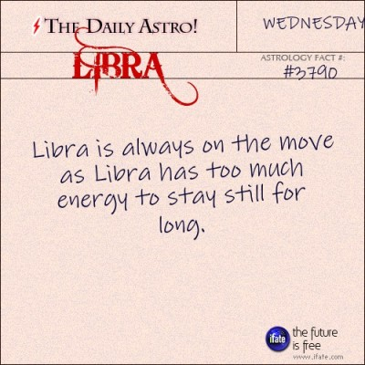 Libra 3790: Visit The Daily Astro for more Libra facts...and click here for the web's best horoscopes!