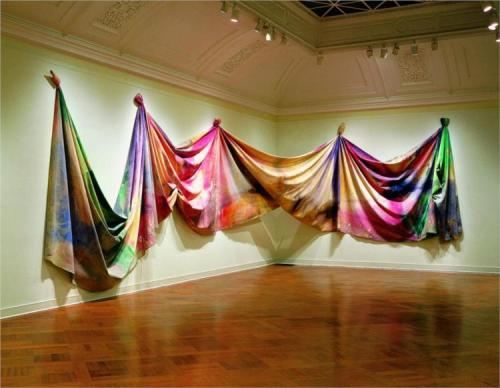 Sam Gilliam, Light Depth, 1969.
