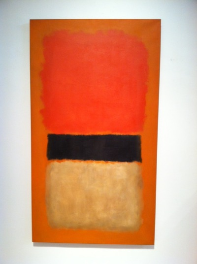 kingstitt:  Mark Rothko's Black Strip (Orange, Gold and Black) Est. $15,000,000-20,000,000