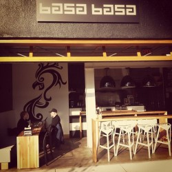 Getting some long awaited Asian wings at Basa Basa