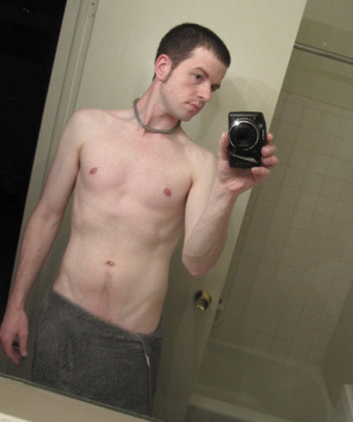 new haircut/new Topless Tuesday… just 1 day late.
