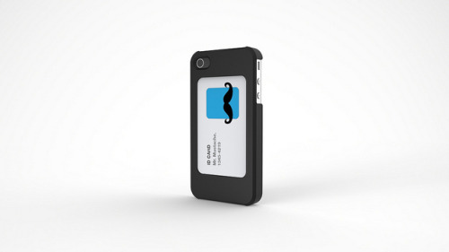 iphone I.D. Card Case design concept. on Flickr.A simple case that allows you access to your card visually as well as functionally, and still protects your phone. Never forget your card by your desk again.