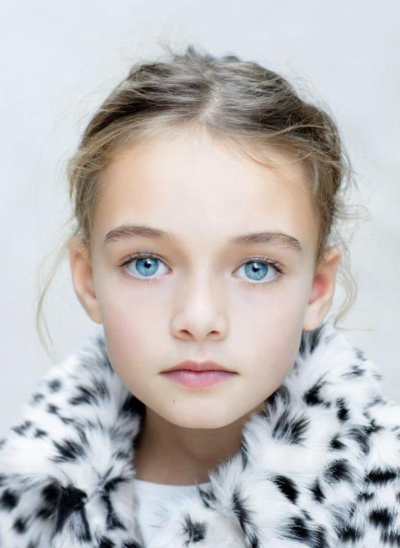 Blueeyed Zara girl.