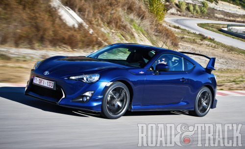 A year after its launch, Toyota is already preparing a revamp for the FR-S .  (Source: Road & Track)