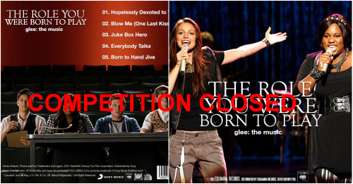 WEEKLY EPISODE GLEE SONG ALBUMS COMPETITION: 4X05 'THE ROLE YOU WERE BORN TO PLAY' IS NOW CLOSED