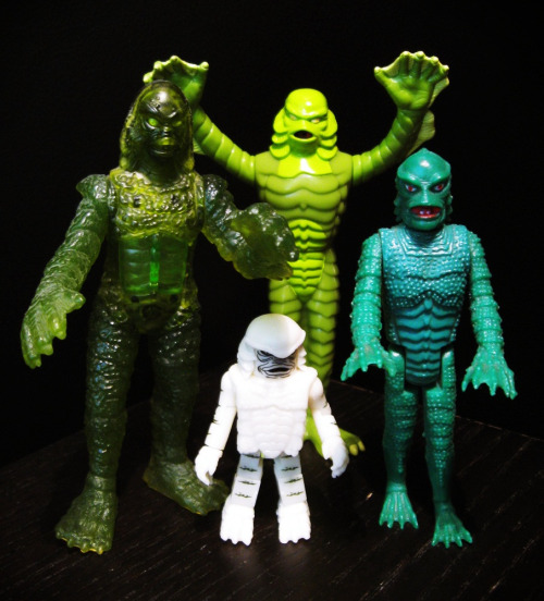 mrlefou:  Creatures from the Black Lagoon  Want