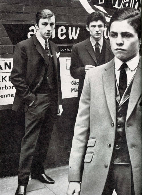 Future glam rock god Marc Bolan (T Rex) as a young mod in London, 1962. His ears were never seen again. Photographed for London's Town magazine (1962) via the60sbazaar Here's the after picture…
