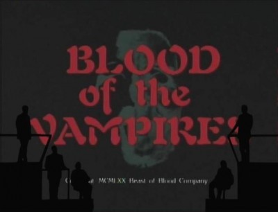 Currently Watching: Cinematic Titanic — #7: Blood Of The Vampires (originally titled Whisper to the Wind)