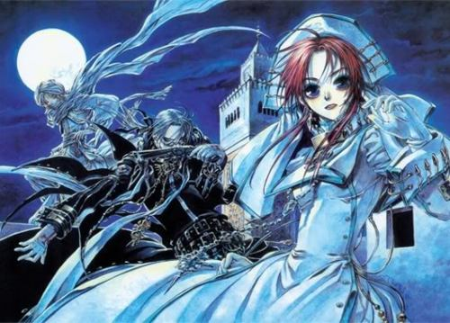 ✞ 30 Day Trinity Blood Challenge ✞ DAY 19: Least favourite ship, whether it be canon or not? Ion and Abel </3 I find this such a weird pairing, its not that i don't mind ion pairings its just that, that is such a weird choice :P