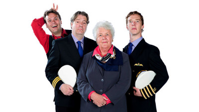 sherlockology:  The new series of Cabin Pressure starring Benedict Cumberbatch will be broadcast on BBC Radio 4 for six weeks starting Wednesday the 9th of January, 2013. More details here.  i  like him