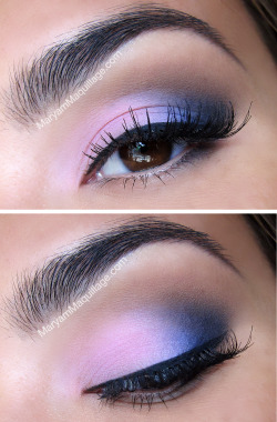 maryammaquillage:  Blushing Blues by www.MaryamMaquillage.com