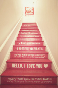 Paint a Staircase with Words