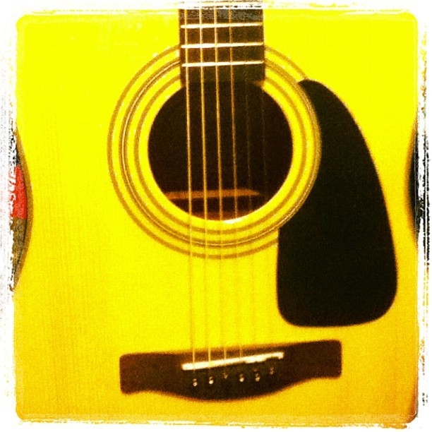 My awesome guitar <3
