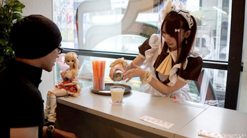 The Japanese have a lot of very different types of cafes. And most of them are very, very strange.