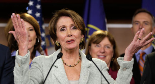 Of course she's not stepping down: Nancy Pelosi announced today that she will run for Minority Leader in the House next session, thus perpetuating her reign as one of the most powerful Democrats in the country. There was a bit of doubt that she'd stick around, really, this wasn't terribly unexpected. source