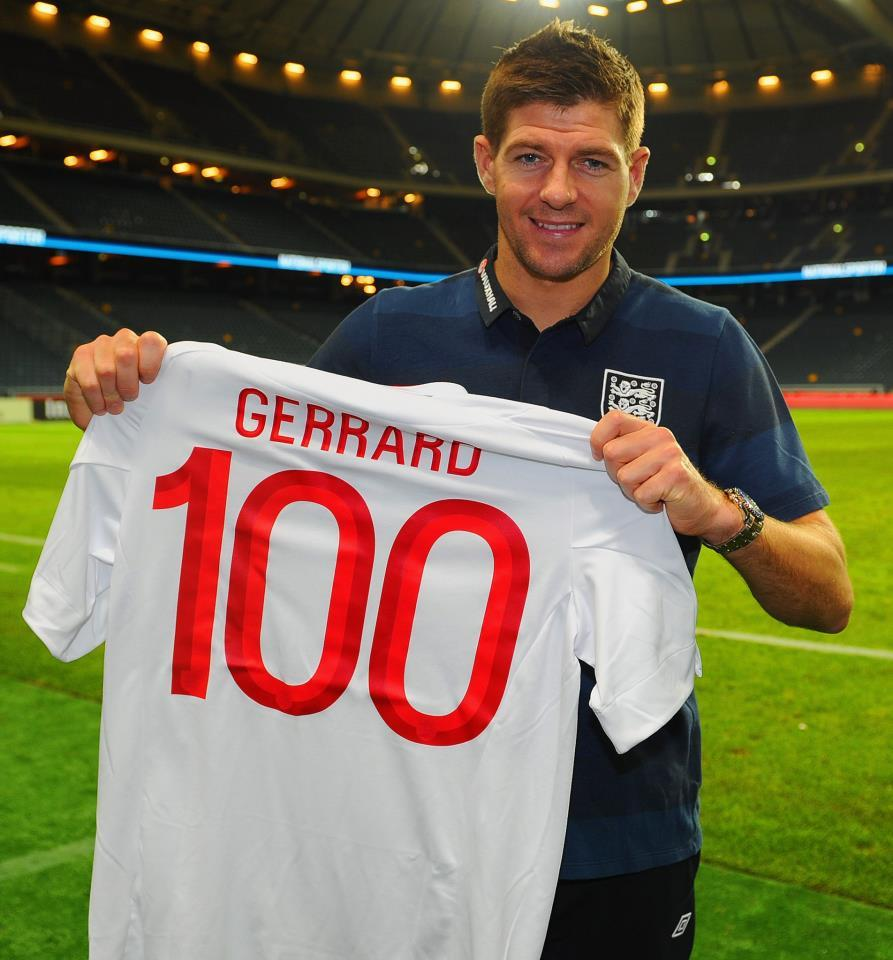 Steven Gerrard made his 100th international appearance for England in the friendly match played against Sweden today. Unfortunately the result wasn't entirely favorable for England, who fell 4-2 to the hosts in the christening of the new arena in Solna. Read the entire match report. And of course if you haven't watched Zlatan's overhead goal from the same match yet … here it is again! Nicely angled back kick with a touch of chance: