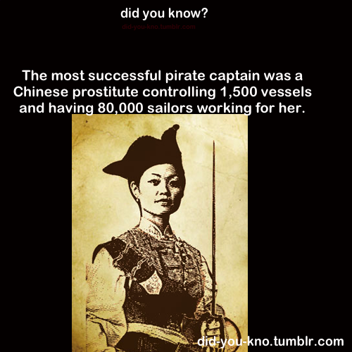 did-you-kno:  Source  *former prostitute still, that is badass. especially considering she's the only female in that whole list