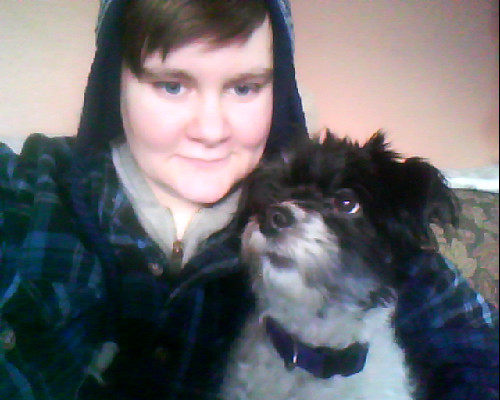 me and Bandit J. Flufferton III