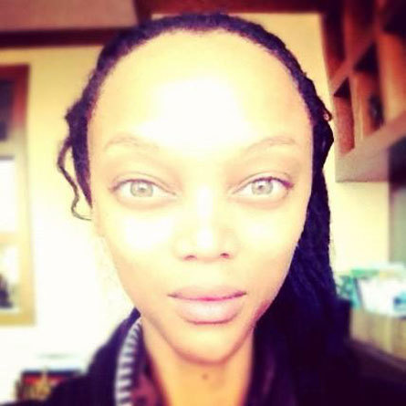 Tyra Banks or alien? You decide.