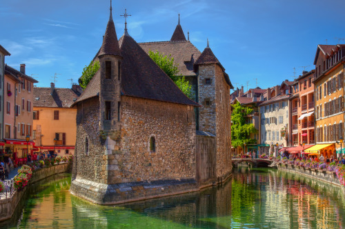 travelingcolors:  The Old Prison at Annecy | France (by Chris Vincent)