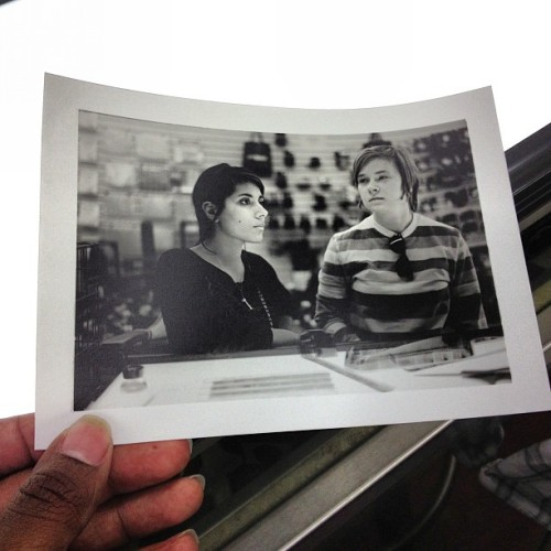 Spent a little time in the darkroom this evening. Teaching darkroom classes has been a lot of fun. Next classes start Jan 14 and 15! @orianapadron #photography #darkroom #film #atl #atlanta #leica #m6 #leicam6 #print