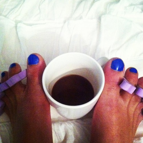 My kind of night #nails #coffee #procrastination