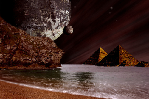 """Ancient Pyramids Of Phobos"" on Flickr."