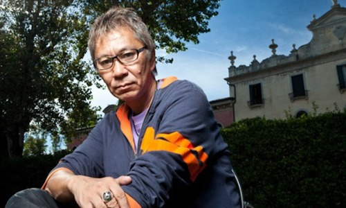 "terribletriplefeatures:  Takashi Miike ""I became a director because I didn't have another choice. I dreamed of becoming a motorbike racer because I love motorbikes a lot. I think anyone can become a director, especially if you have money… If there is a 1 – 10 scale for talent, then a 10 point talent is a director, but a 1 point person can also become a director if he has the talent to make the right contacts. In motorbike racing on the other hand the winner is always an extreme talent. Even if we train a lot we can't beat them. I admire that kind of world. But I didn't have a choice. I never thought about becoming a director before. I considered the occupation of film director as being for the intelligentsia."" ""I don't make rules myself. I didn't study enough to be able to make them. I'm too stupid. I spend my whole life making movies, so I have to enjoy it. Even at times when we had a very tight and difficult schedule, it was always enjoyable. Of course I wonder if the film will be successful afterwards. It's wonderful if a film becomes successful as a result of the enjoyment that we had."" -20 Brilliant Filmmakers on Why They Make Movies"