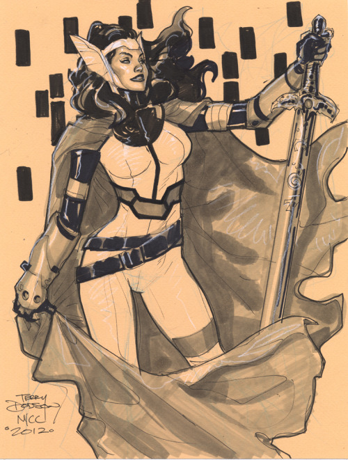 SIF NYCC 2012 ~by Terry Dodson