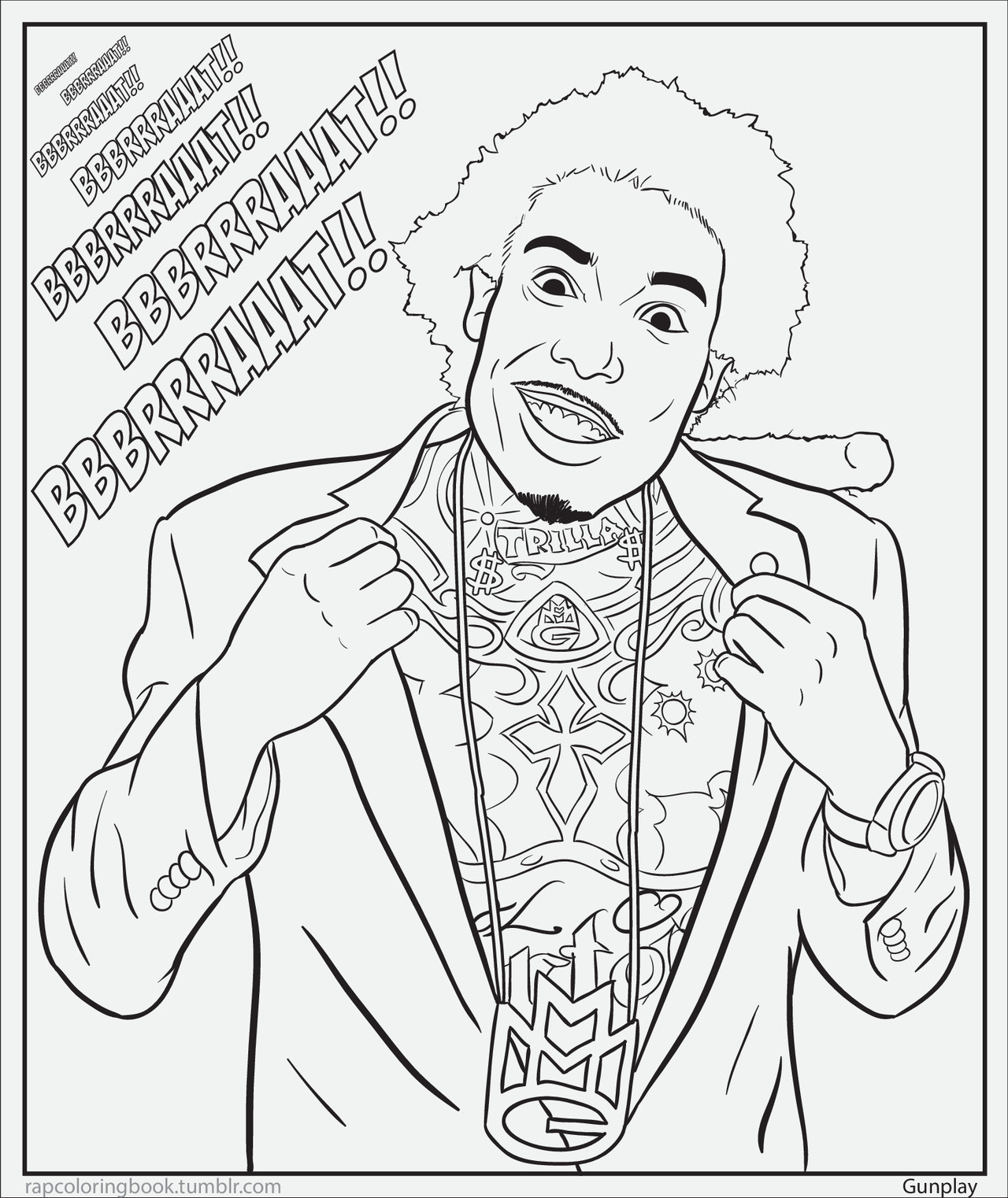 BOGOTA! Click here to download this page. Print it out. Color it. Listen to this while you do so.   rapcoloringbook || @RapColoringBook