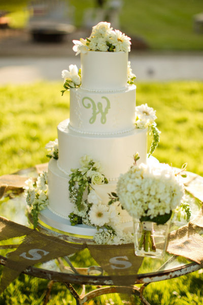Love this cake! Simple and FRESH looking…I still need to find one for my wedding!  weddingcakeblog:  Wedding Cakes
