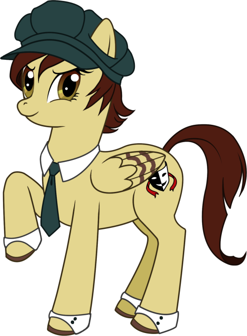 I have fallen in love with this show, hence I ponified myself. :)