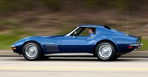 corvettes:  Blue C3 Corvette