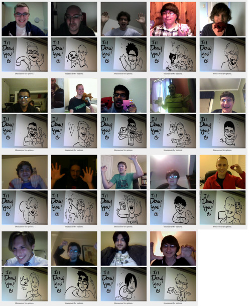 edmundmcmillen:  Fun With Omegle ! (drawin fans part 7667543435)  If I look outrageously happy in this picture, it's because I really am.