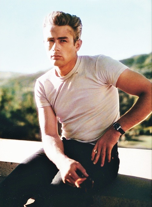 theniftyfifties:  James Dean  Yum.